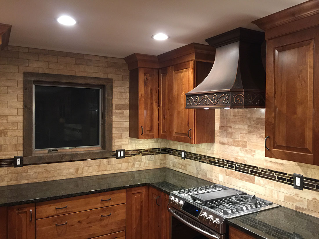 Beautiful Rustic Kitchen Renovation - HIG Construction
